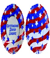 "18"" Outstanding Senior Leaders American Flag"