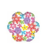 "9"" Spring Flowers Daisy Balloon"