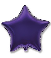 "32"" Jumbo Metallic Purple Star"