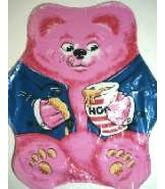 "26"" Pink Bear w/honey Shape"