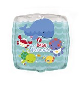 "18"" Under The Sea Pals Baby Shower Balloon"