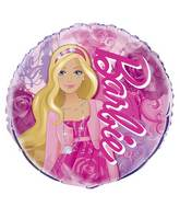 "18"" Packaged Barbie Foil Balloon"