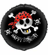 "18"" Pirate Fun Birthday Balloon"