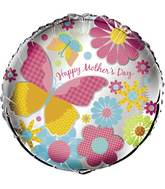 "18"" Mother&#39s Day Cheer Foil Balloon"