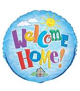 "18"" Welcome Home Foil Balloon Packaged"
