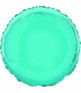 "18"" Baby Blue Round Solid Color Foil Balloon"