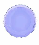 "18"" Lavender Round Solid Color Foil Balloon"