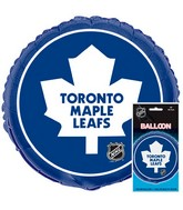 18&#39&#39 Packaged NHL Toronto Foil Balloon