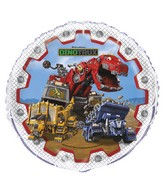 "18"" Dinotrux Foil Balloon Packaged"
