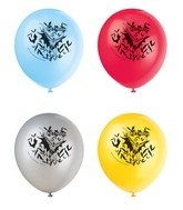 "12"" 8 Count Batman Latex Printed Balloon"