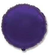 "9"" Airfill Only Metallic Purple Circle"