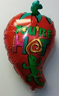 "28"" You&#39re Hot Red Chilli Pepper Balloon"