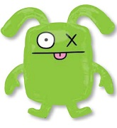 "26"" Ugly Dolls Ox Jumbo Mylar Balloon"