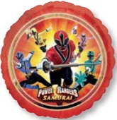 "18"" Power Rangers Samurai Balloon"