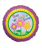 "9"" Airfill Get Well Soon Flowers"