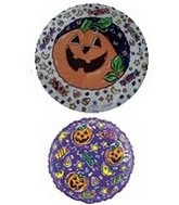 "9"" Airfill Halloween Pumpkin Treats"