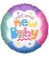 18&#39&#39 Welcome New Baby Balloon