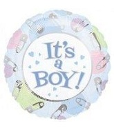 "4"" Airfill It&#39s A Boy Dots"