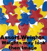Assorted Weights Of 242grams (15 Pack)