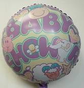 "18"" Baby Shower Nursery Balloon"