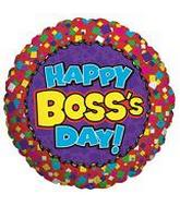 "18"" Happy Boss&#39s Day Squares"