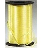 Beeswax Yellow Curling Ribbon