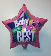"18"" Baby You&#39re The Best Mylar Balloon (Slightly Damaged)"