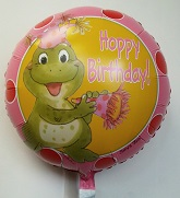 "18""  Hoppy Birthday Balloon"