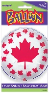 "18"" Canada Flag Balloon (Sold Packaged Only)"