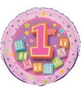 1st Birthday Wholesale Foil Balloons