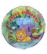 Jungle Animals Wholesale Foil Balloons