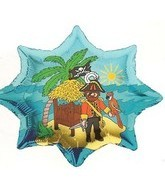 Pirate Wholesale Mylar Balloons