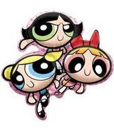 Powerpuff Girls Wholesale Mylar Balloons