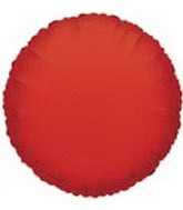 "9""  Airfill Solid Red Round Balloon"