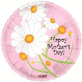 "18"" Happy Mother&#39s Day Balloon Trendy Flowers"