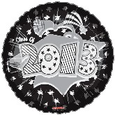 "18"" Class of 2013 Graduation Balloon Black"