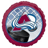 "18"" NHL Colorado Avalanche Mylar Balloon"
