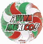 "36"" Viva Mexico! Transparent Balloon"