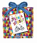 "20"" Shape  Pasala Super Regalo Grafitti Balloon"