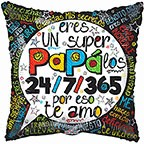 "18"" Balloon Un Super Papa"