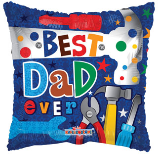 "18"" Best Dad Ever Tools"