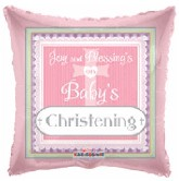 "18"" Joy Baby Girl&#39s Christening Pink"