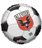 "18""  MLS D.C United  Soccer Ball"