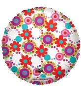 "18"" Decorative Circles & Flowers"