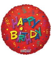 "18"" Birthday Stars & Streamers"