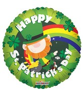 "18"" Happy St. Patricks Leprechaun"