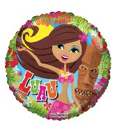 "18"" Luau Hula Girl Balloon"