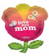 "36"" Jumbo Tulip Shape Love You Mom"