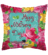 "18"" Happy Mother&#39s Day Roses Balloon"