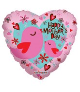 "18"" Happy Mother&#39s Day Birds Balloon"
